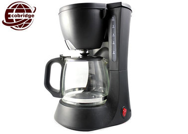 China Mini Basic Drip Coffee Maker 4 Cups 0.6L Glass Jug for Room Removable Filter supplier