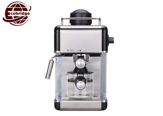 3.5 Bar Steam Household Coffee Makers Cappuccino With Glass Jug 240x215x350mm