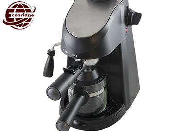 Mini Household Coffee Makers With Glass Jug 3.5 Bar 240ml 2-4 Cups Family