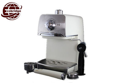 Domestic Automatic Espresso Machine , Stainless Steel Milk Frother Home Espresso Maker