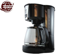 Aluminum Glass Office Home Drip Coffee Makers , 8-10 Cups Basic Drip Coffee Maker