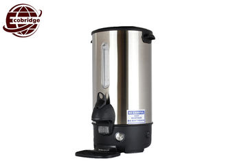 Stainless Steel Electric Coffee Urn Multi Function DIA235*H470 OEM Accepted