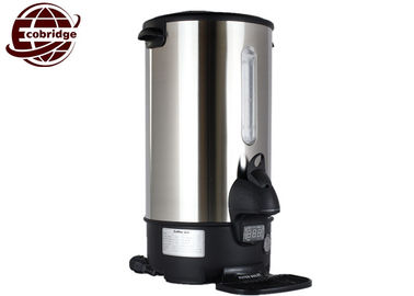 Automatic Tea Water Boiler Urn Energy Saving 1500w Commercial OEM Optional Color