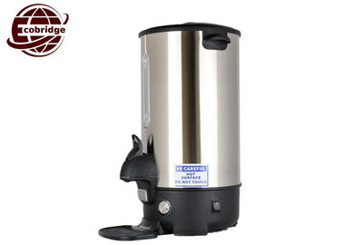 OEM Optional Color Electric Coffee Urn 20 Liter With Level Sensor Stainless Steel