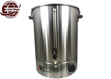 Stainless Steel Commercial Water Boiler 15 Liter Single Wall 2000W VDE Plug
