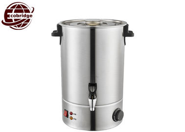 Single Wall Electric Water Boiler , 10-60 Liter Stainless Steel Water Boiler